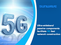 Ultra-wideband passive components facilitate 5G fast network construction